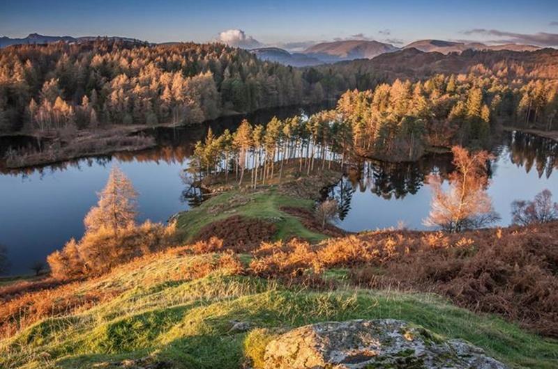 Осенние озера: 30 фотографий 0 145dd3 c97d94fa orig