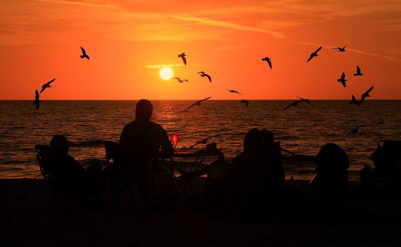 Мексиканский  залив.