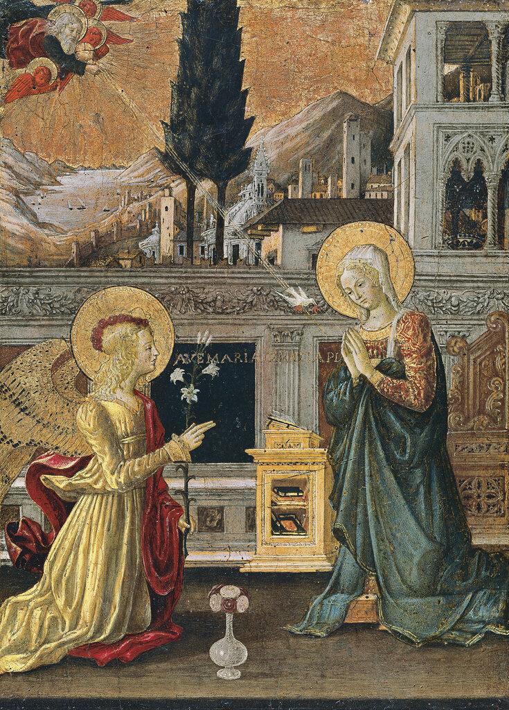 Bonfigli, Benedetto - ������������, ��. 1455, 51 cm x 36,5 cm, ������, ������� � ������.jpg