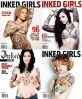 Книга Inked Girls - Collection (2011)