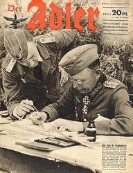 Журнал Der Adler 17.08.1943