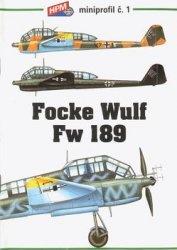 Книга HPM Miniprofil 1: Focke Wulf Fw 189