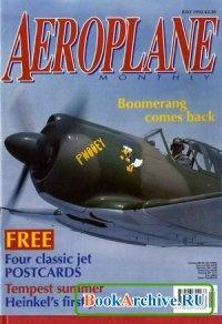 Журнал Aeroplane Monthly - July 1992.