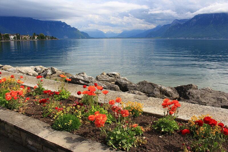 Веве, Женевское озеро