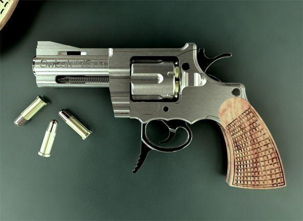 Самый опасный пистолет в мире