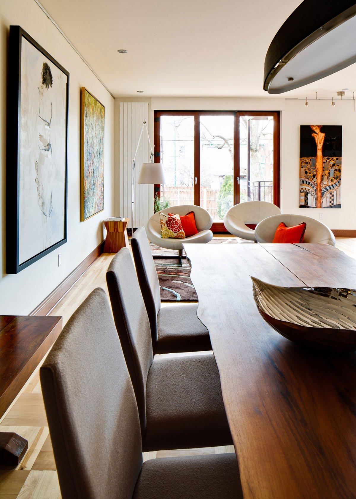 Boom Town, Condo Louis-Hebert, современный дизайн интерьера фото, оформление частного дома, дизайн интерьера, дома в Канаде фото, дом в Монреале фото