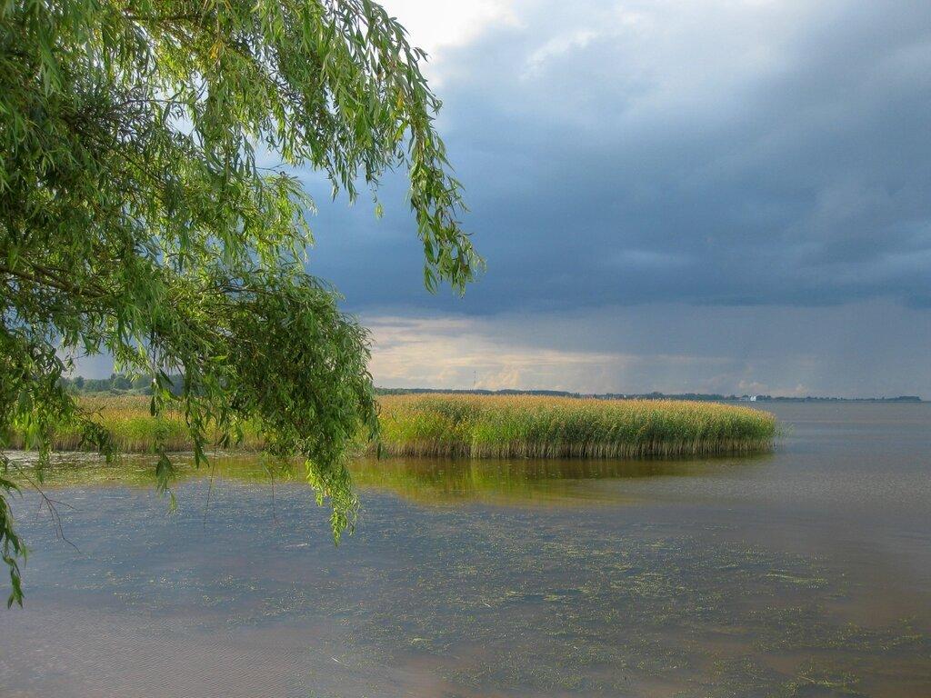После дождя, Псковское озеро