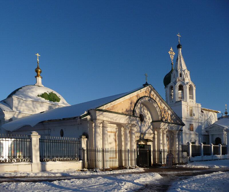 Церковь Похвалы Пресвятой Богородицы и церковь Димитрия Солунского