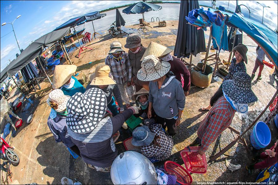 Вьетнамский стихийный рынок