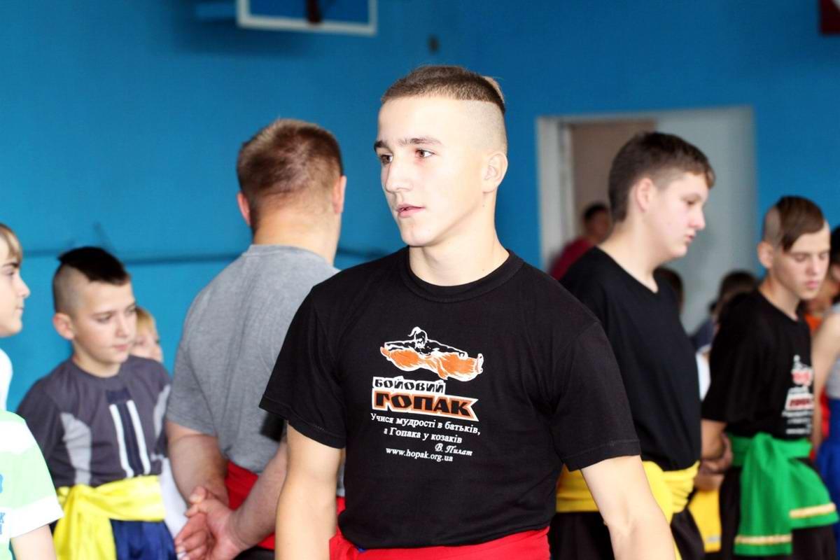Квалификационный групповой экзамен в школе боевого гопака города Нетешин (Хмельницкая область) (33)