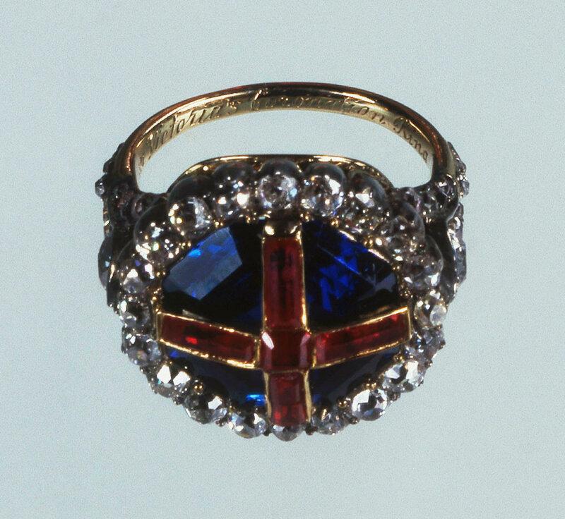 Коронационное кольцо королевы Виктории  1838
