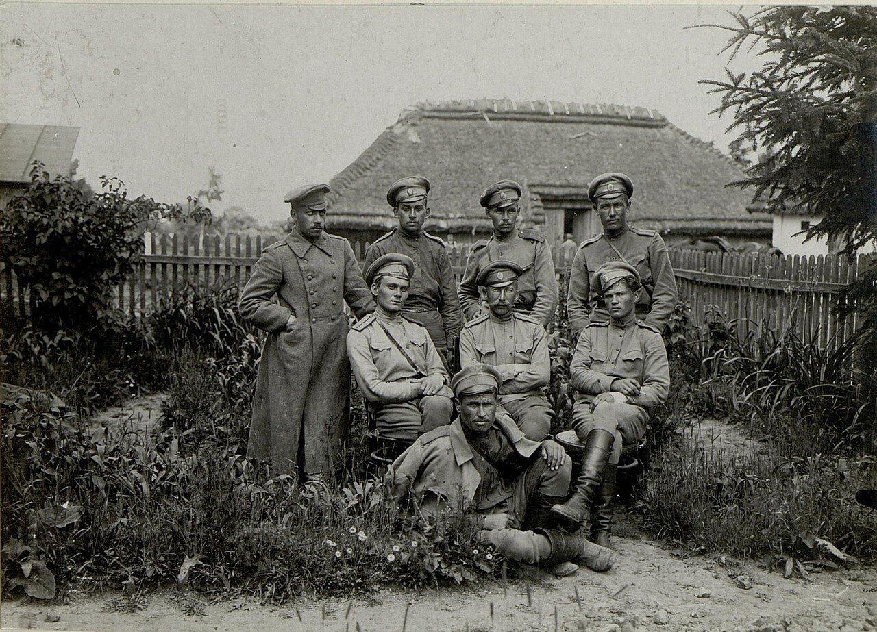 Русские военнопленные офицеры