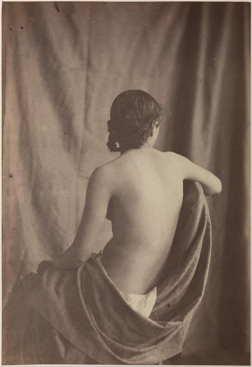 1853. Сидящая обнаженная