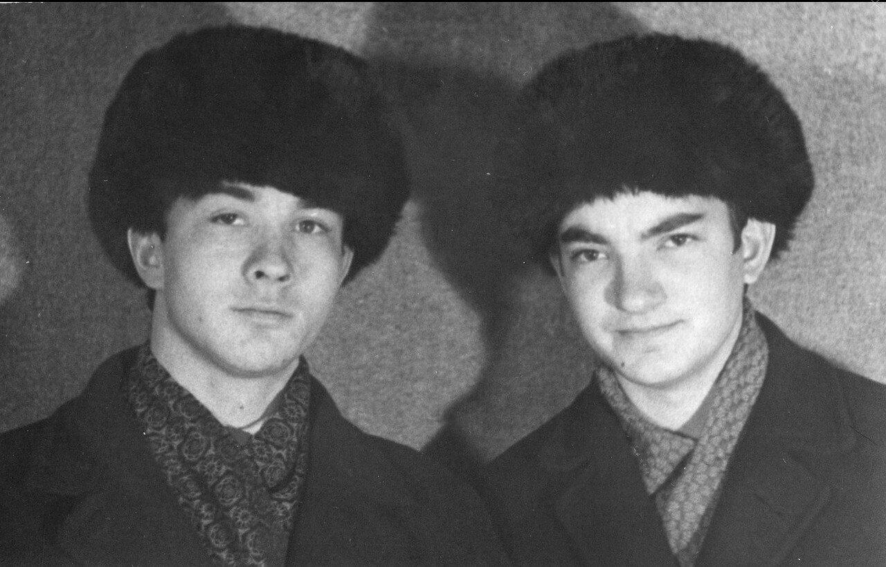 1968. Смена поколений студентов РИСИ. Ростов-на-Дону