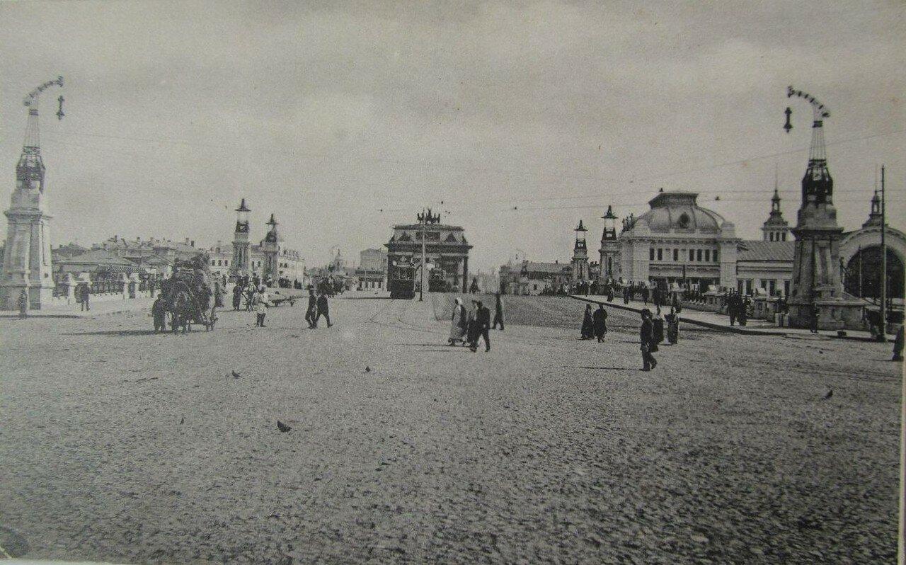 Виадук у Брестского вокзала