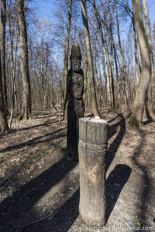 Даждьбог - славянский покровитель плодородия и солнечного света