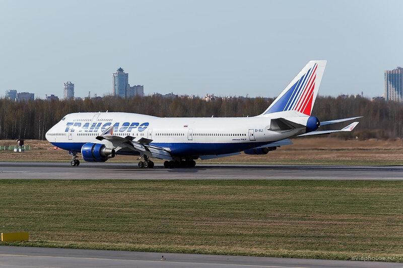 Boeing 747-446 (EI-XLI) Трансаэро D804417