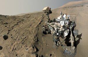 Curiosity обнаружил на поверхности Марса метан