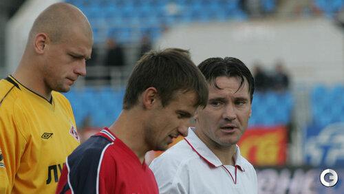 Войцех Ковалевски, Сергей Семак и Дмитрий Аленичев