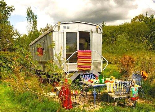 Дом на колесах в стиле хиппи