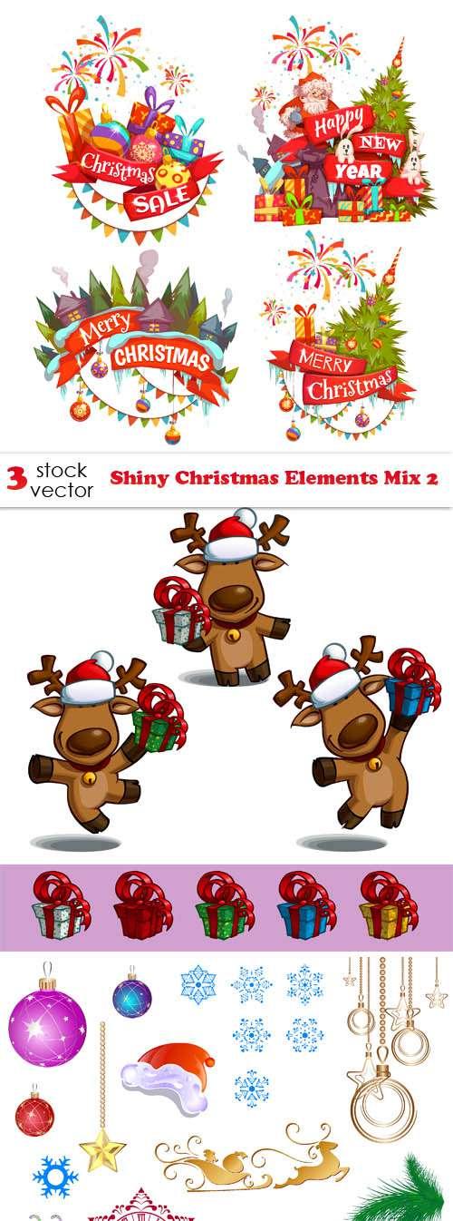 Новый год и Рождество - Элементы дизайна