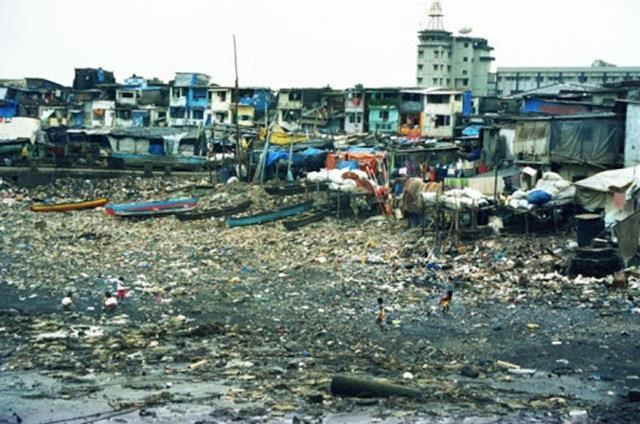 Фото. Бедность и нищета в трущобах Мумбаи