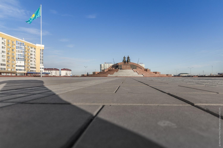 Один день в Казахстане прохождение границы и город Атырау