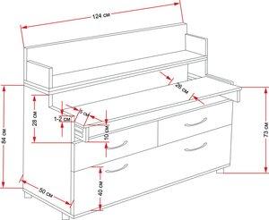 Стол для вязальной машины своими руками чертежи 671