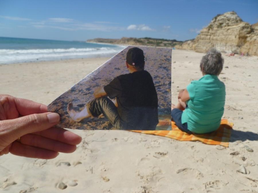 «Сегодня, вдень Святого Валентина, язнаю— мой папочка опять здесь, насвоем любимом пляже, где я