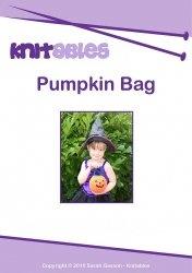 Журнал Knitables. Pumpkin Bag. Knitting Pattern Booklet