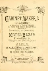 Книга The Cabinet makers album