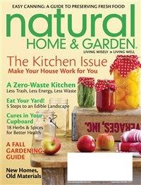 Журнал Журнал Natural Home №9-10 (сентябрь-октябрь 2011) / US
