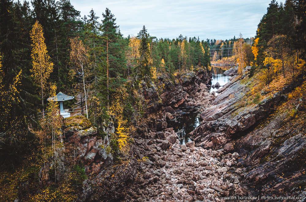 Иматра, Финляндия, Вуокса, Иматранкоски, водоскат