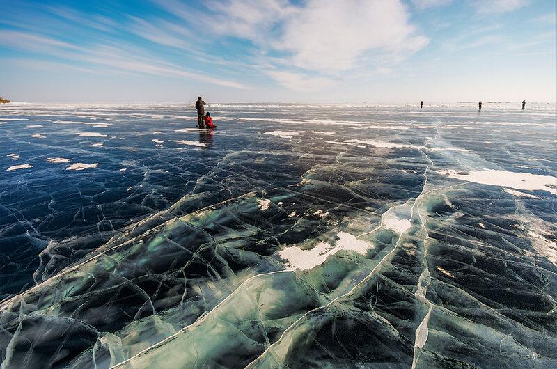 Прекрасный лёд Байкала