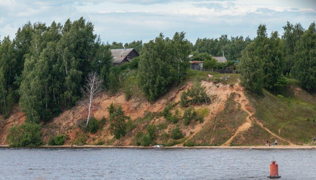 Городецкий пляж и деревня Иваново