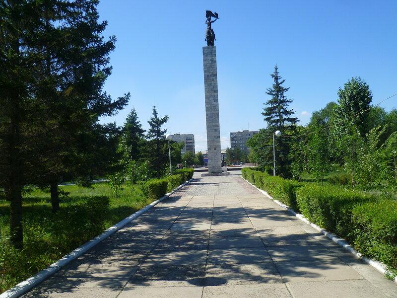 Семипалатинск, сквер Победы (Semipalatinsk, Victory Square)