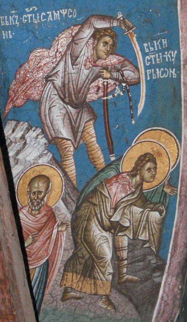 БЕССРЕБРЕННИКИ МУЧЕНИКИ КИР И ИОАНН - ПРЕСТОЛЬНЫЙ ПРАЗДНИК В ХРАМЕ ПРЕОБРАЖЕНИЯ ГОСПОДНЯ В ОСТРОВЕ