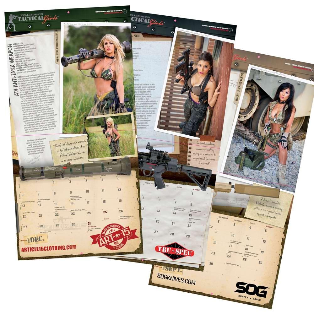 Стрелковый календарь Tactical Girls (21)