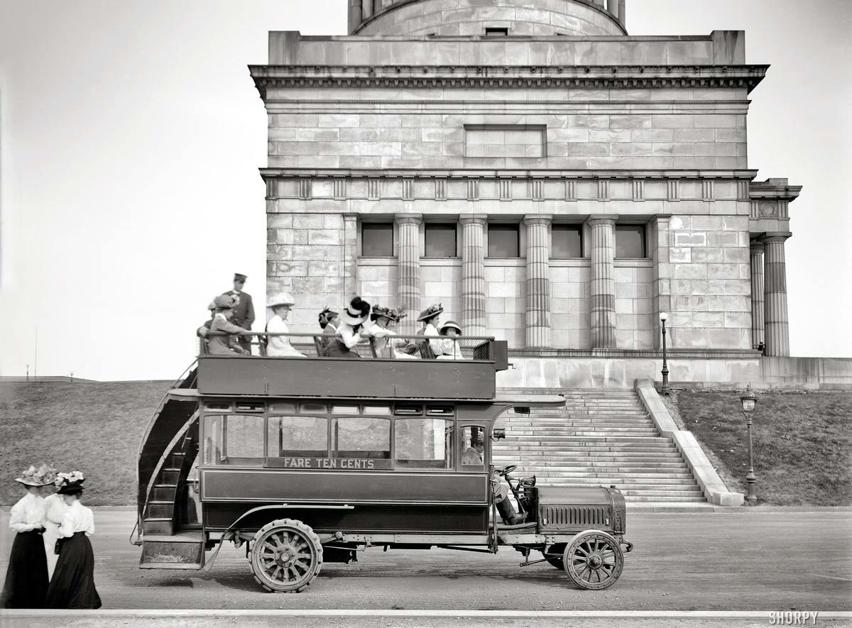 Специализированные транспортные средства начала 20-го века на снимках американских фотографов (5)