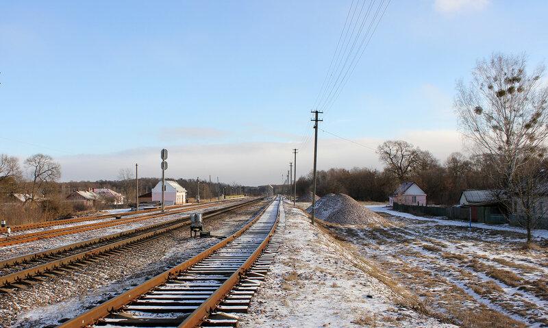 Станция Якимовка, на Гомель