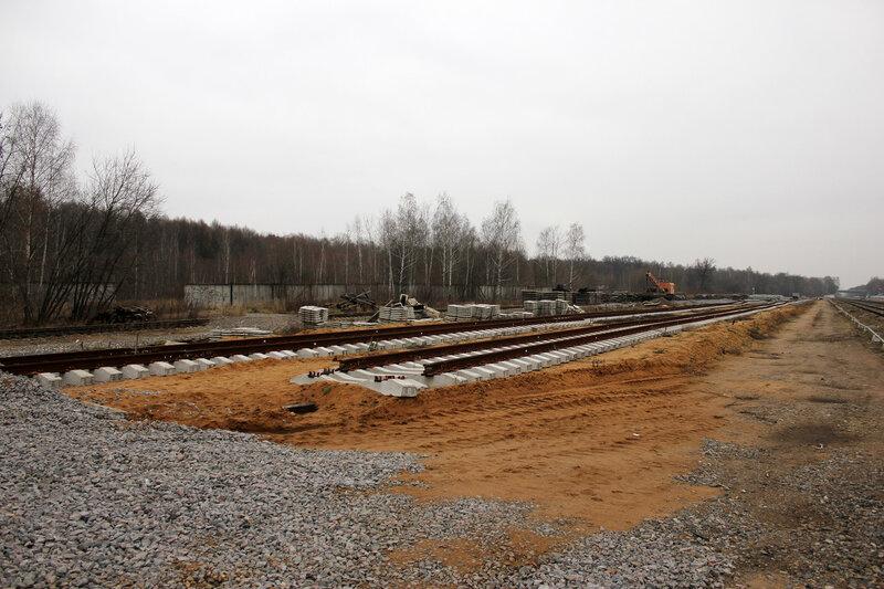 Реконструкция станции Белокаменая