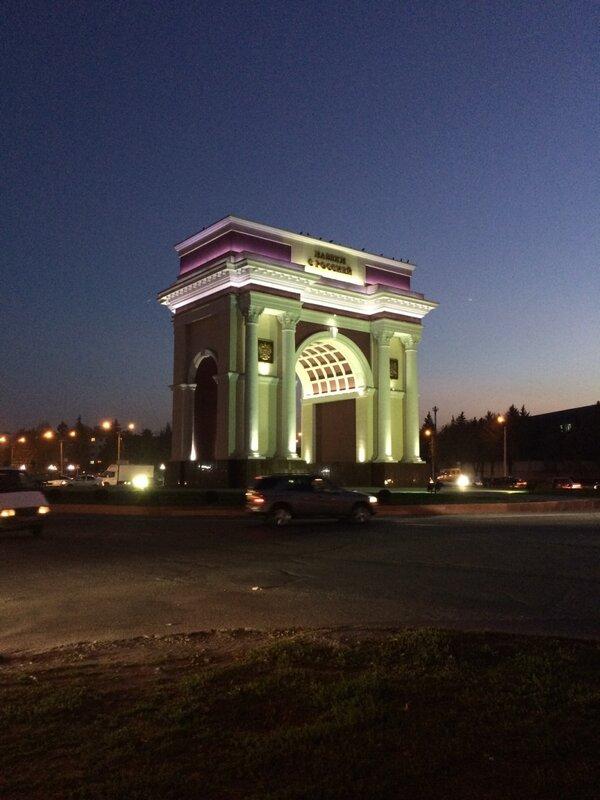 Триумфальная арка Нальчика