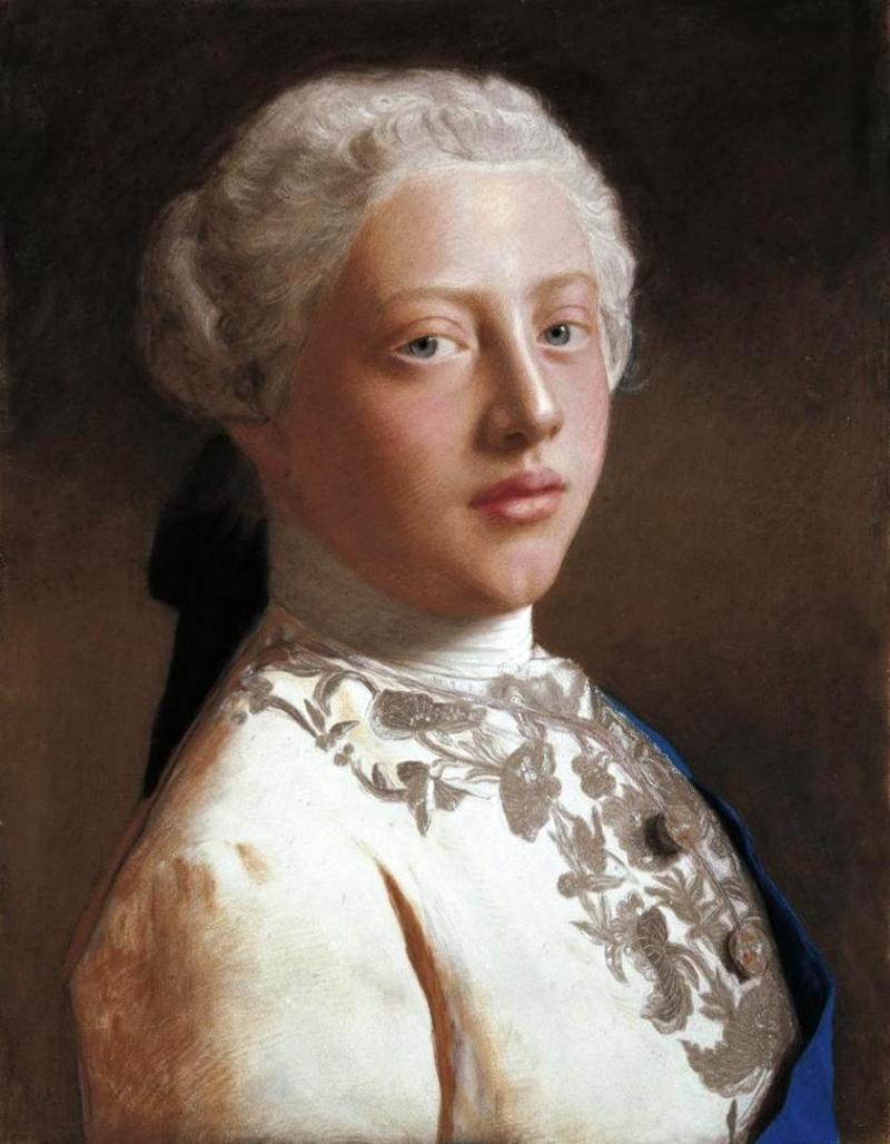 George, Prince of Wales, Jean-Étienne Liotard