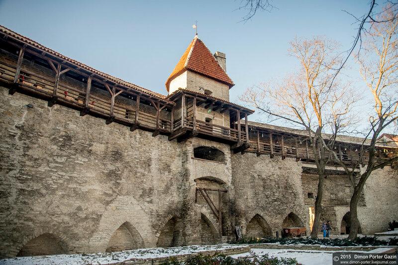 Таллинн. Оборонные сооружения Старого Города.