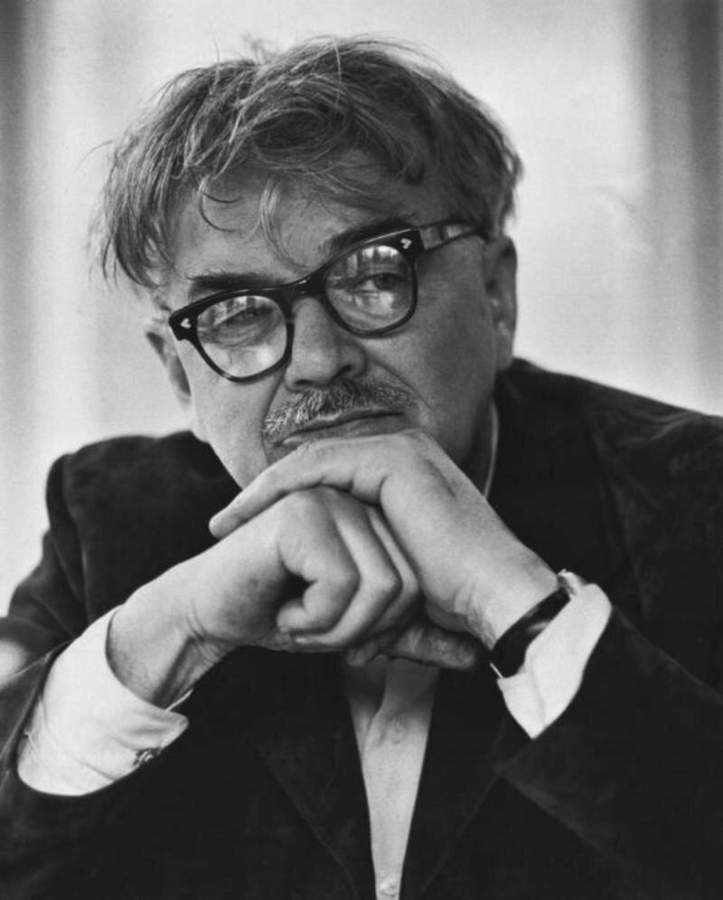 1950. Писатель Леонид Леонов