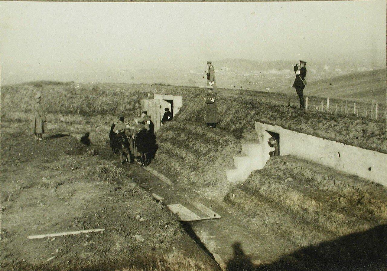 18. Вид части форда, покинутого австрийцами при отступлении