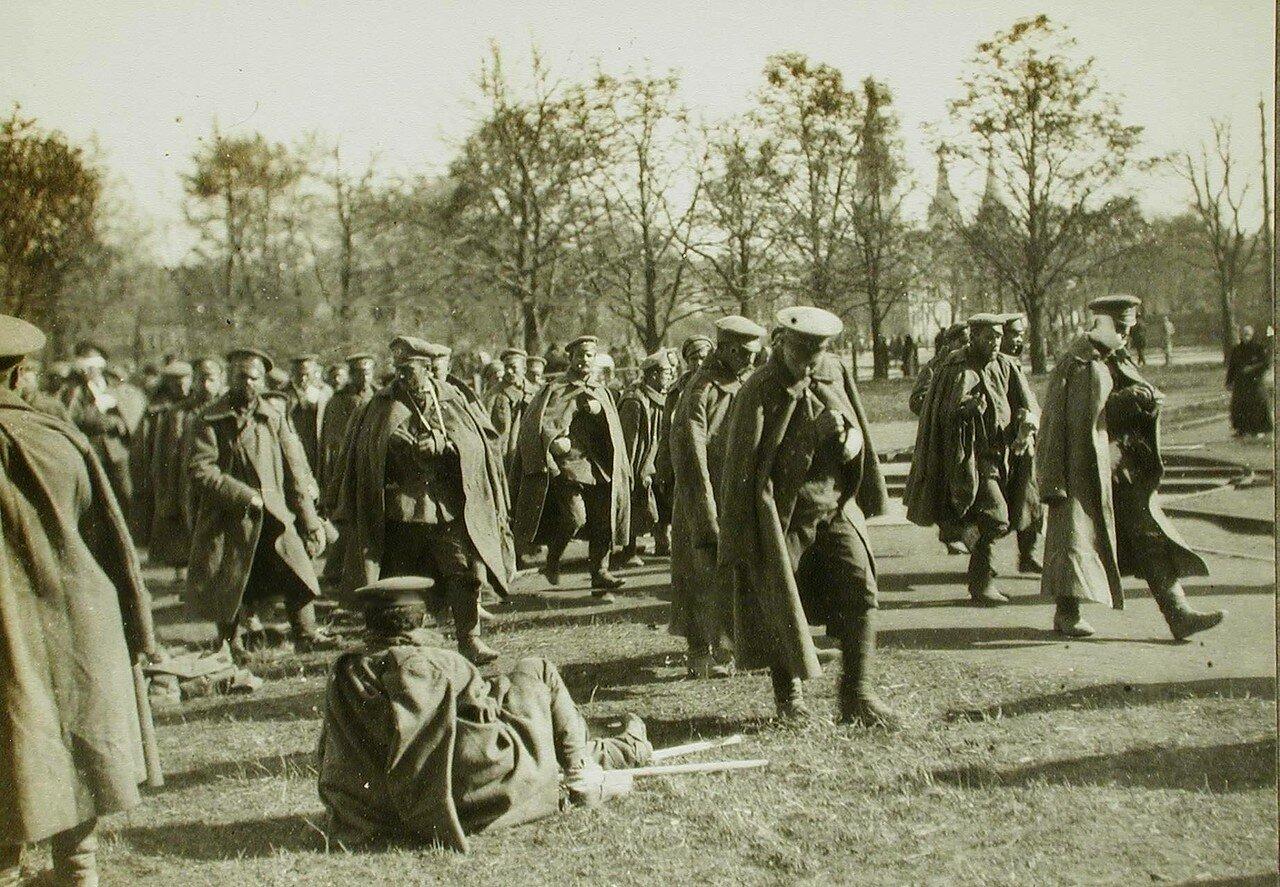 24. Раненые русские солдаты в Лемберге