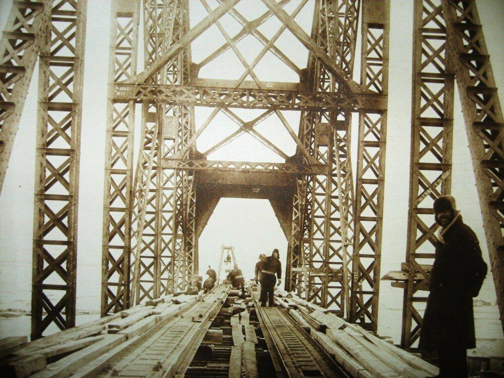 43. Пролет моста через Зею
