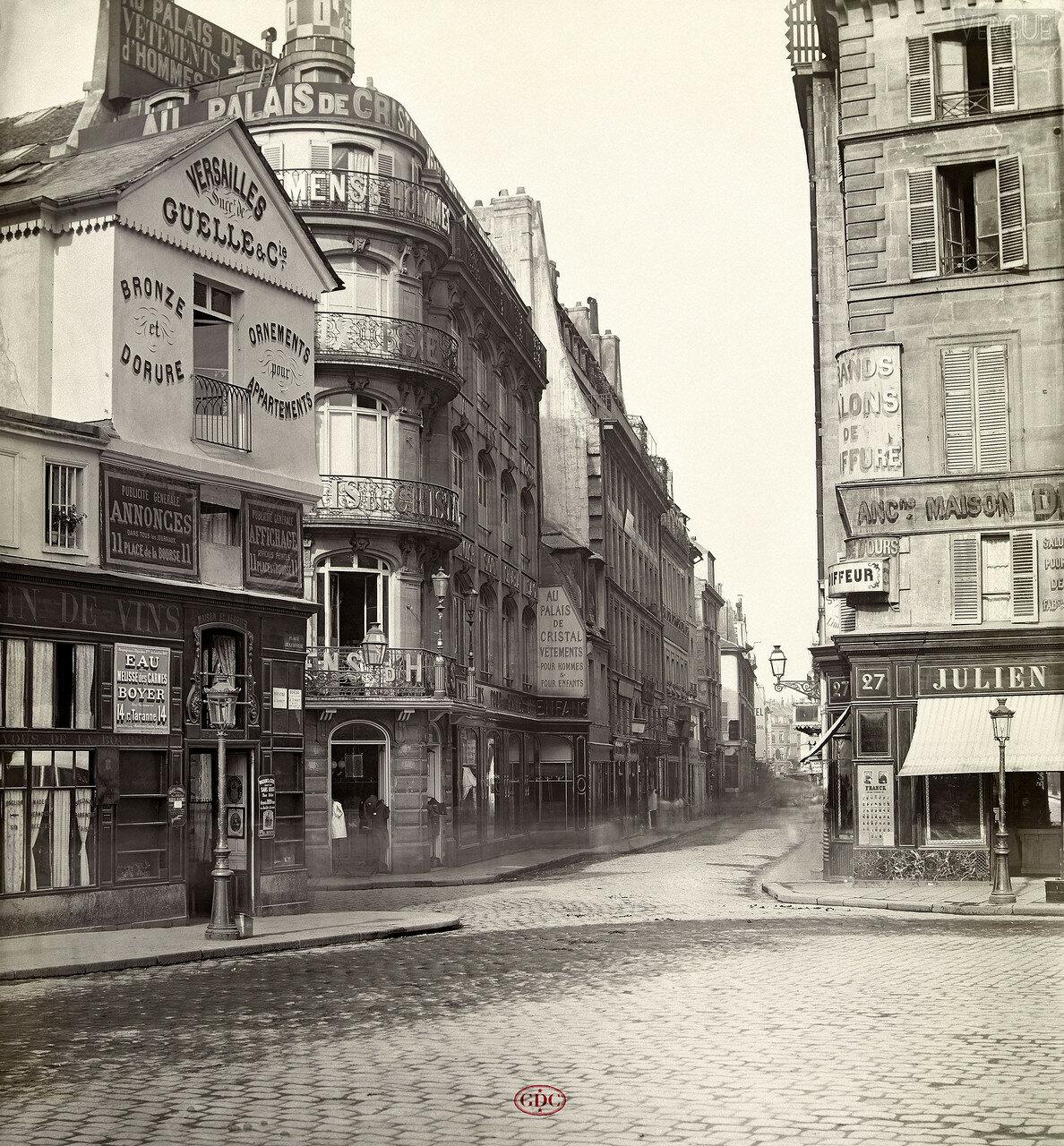 Рю Фий-Сен-Тома. 1866