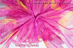Мастер-класс. Хризантема из ткани «Ягодка» от Vortex  0_fbf98_b15f10c6_M